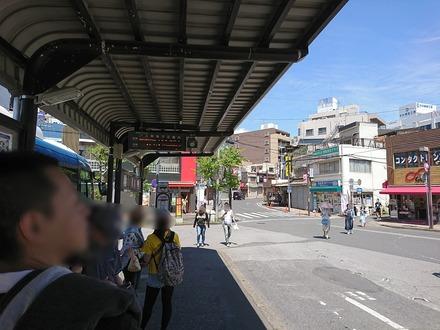 170505 vs日ハム 西船橋駅のバス乗り場
