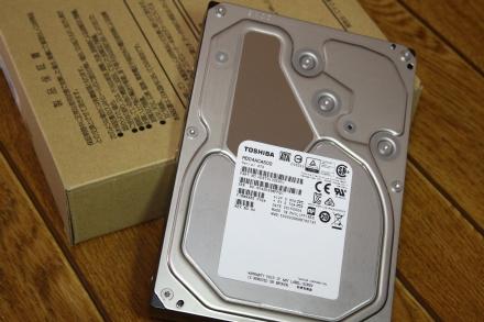 東芝 6TB HDD MD04ACA600 01
