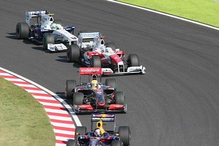 2009 F1 鈴鹿 決勝スタート