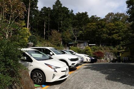 1710 箱根 竹やぶ 駐車場