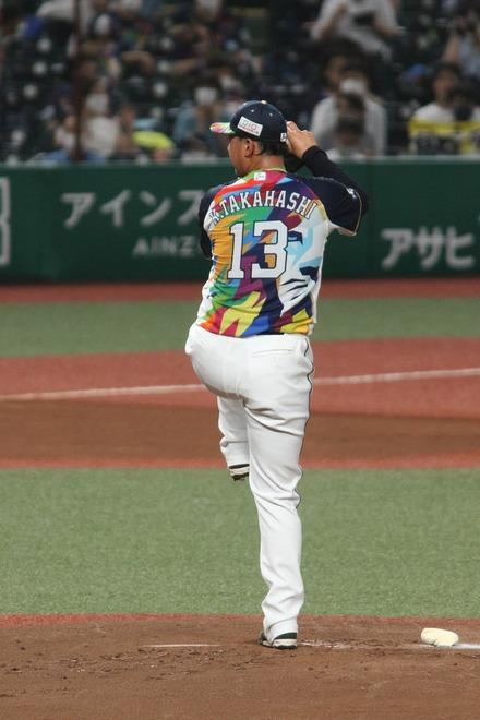 210824 メットライフドーム vs SB 高橋光成 01