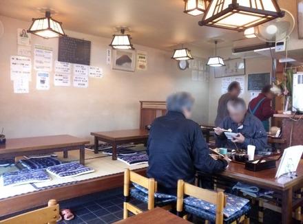 鷺沼 とんかつ富士 店内