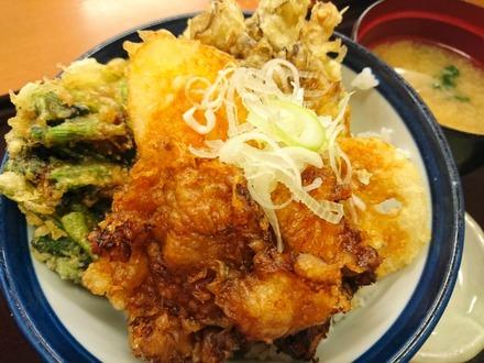てんや 豚角煮天丼 02