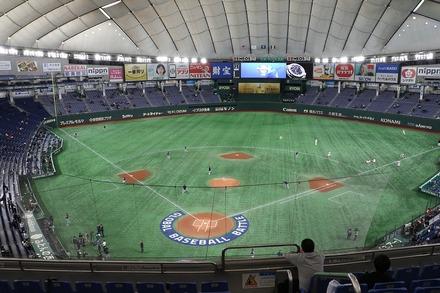 191117 東京ドーム プレミア12 MEXvsUSA 座席からの眺め