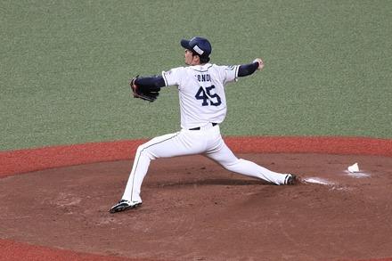 200725 vsロッテ 本田圭佑03