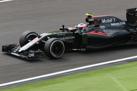 F1 2016 鈴鹿 日本GP FP1 バトン