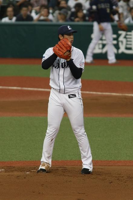 170924 vsオリックス 高橋光成01