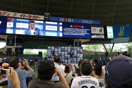 160612 vs中日  駒田徳広トークショー 004