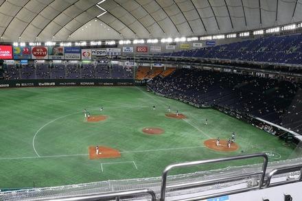 210602 東京ドーム 交流戦 vs巨人 座席からの眺め