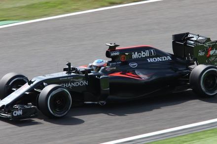 2016鈴鹿 日本GP マクラーレンのフェルナンド・アロンソ