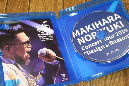 Blu-ray Makihara Noriyuki Concert Tour 2019  Design & Reason02