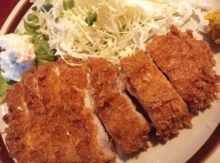 鷺沼 おおぎ とんかつ定食02