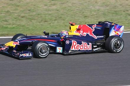 2009 F1 鈴鹿 決勝 ウェーバー