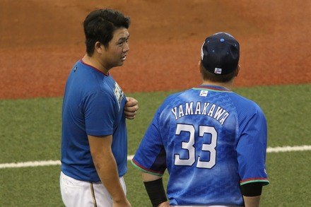 180818 vs日ハム 山川穂高と近藤健介