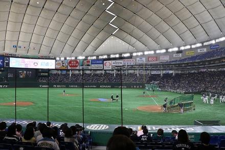 190407 東京ドーム vs日ハム 座席からの眺め