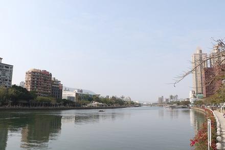 2002 台湾 高雄 愛河河口辺り 03