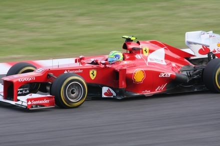 121005 鈴鹿 日本GP FP2 マッサ
