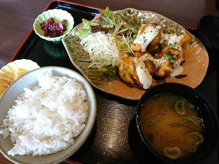千年の宴 チキン南蛮定食 01