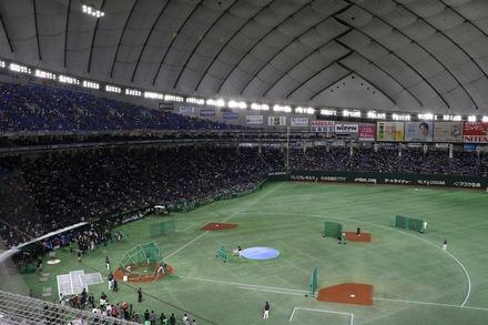 181110 日米野球 座席からの眺め
