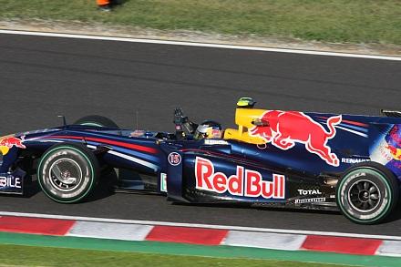 2009 F1 鈴鹿 決勝 ベッテルウィニングラン