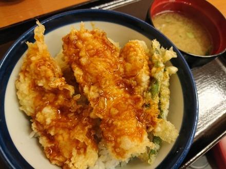 てんや 柚子こしょう鶏天丼 02