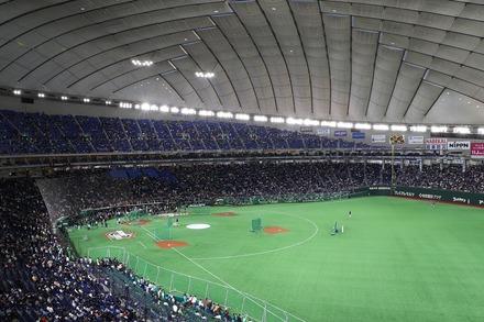190321 MLB開幕戦 東京ドーム 座席からの眺め