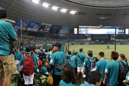 160918 vs楽天 試合後イベント01