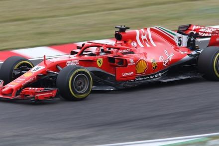 2018 F1 鈴鹿 日本GP FP2 ベッテル