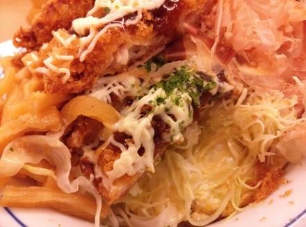 かつや キャベ玉チキンカツ丼03