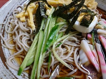 中野 松屋 冷やしタヌキ蕎麦 02