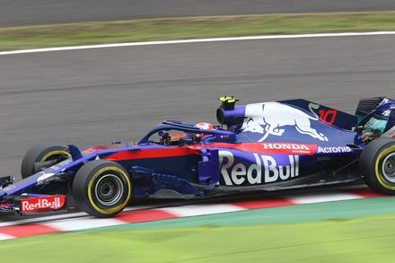 2018 F1 鈴鹿 日本GP FP1 ガスリー