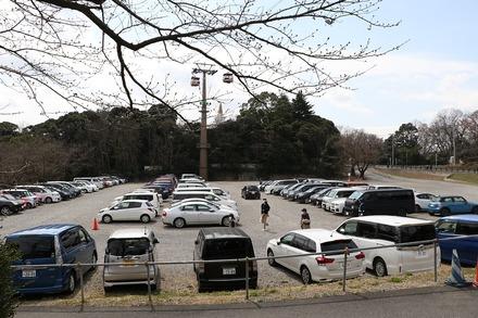 180318 イースタン vs巨人 駐車場