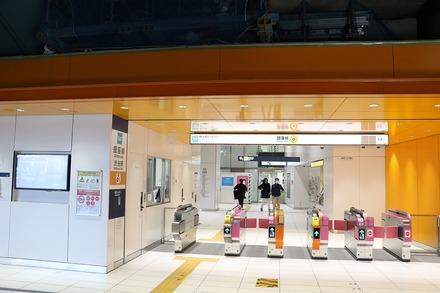 2003 銀座線渋谷駅 01