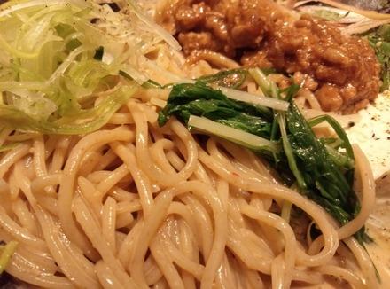味噌が一番 手作り汲上げ豆腐と夏野菜の冷製味噌麺02