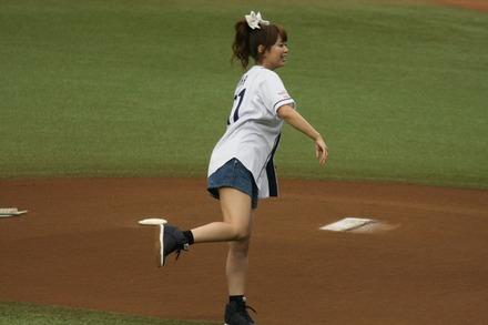 140712 vsオリックス 井口裕香
