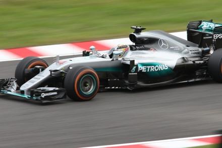F1 2016 鈴鹿 日本GP FP2 ハミルトン