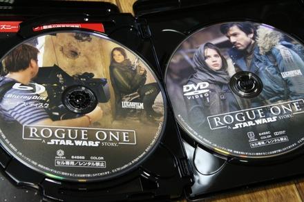 Blu-ray ローグ・ワン スター・ウォーズ・ストーリー03