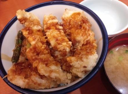 てんや 純和鶏天丼 01