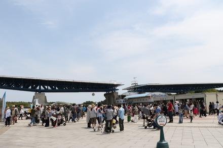 170503 ひたち海浜公園 翼のゲート