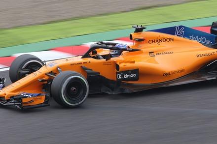 2018 F1 鈴鹿 日本GP FP1 アロンソ