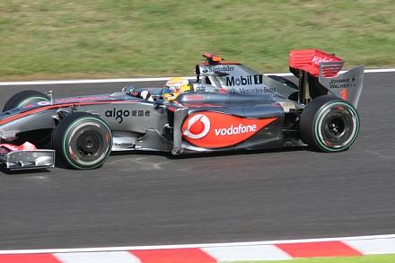 2009 F1 鈴鹿 決勝 ハミルトン