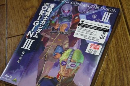 Blu-ray 機動戦士ガンダム THE ORIGIN III 暁の蜂起01