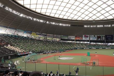 201103 vs 日ハム 座席からの眺め