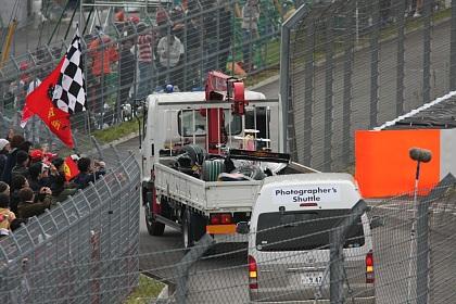 F1 富士 日本GP クルサードのマシン