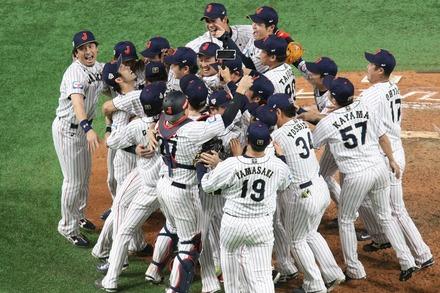 191117 東京ドーム プレミア12 vs韓国 侍JAPAN 勝利02