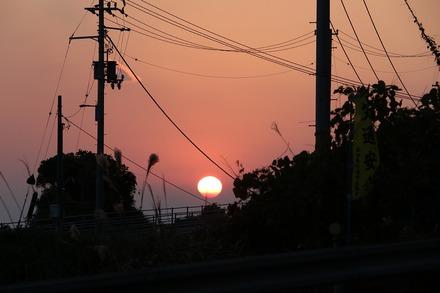 2012 愛媛高知 赤野の夕日