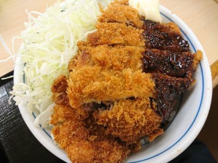 かつや テリマヨ合盛りカツ丼 02