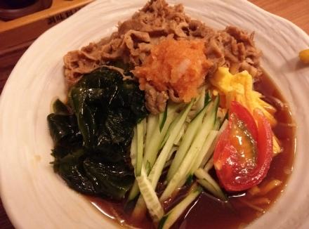 麺処直久 肉冷やし 中華01