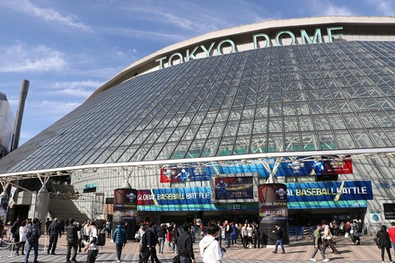 191117 東京ドーム プレミア12 MEXvsUSA ドーム前