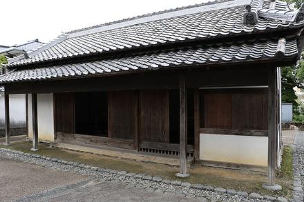 1710 掛川 掛川城大手門 番屋01